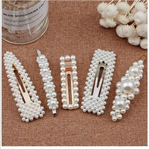 Accessories - 5 pcs Pearl Hair Clips